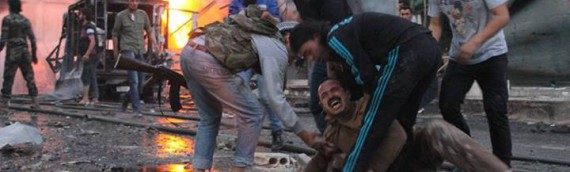 Aleppo: Barrel bombs kill 100 people in one day