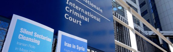 Naame Shaam hands report about 'sectarian cleansing' in Syria to ICC Prosecutor